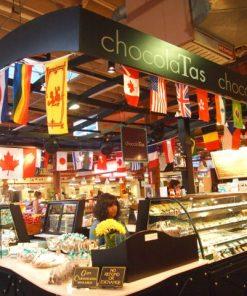 mua sắm tạichợ Công Cộng đảo Granville