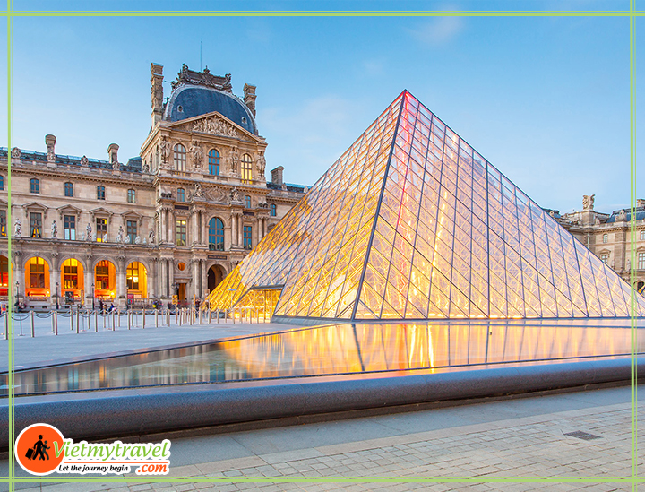 bao-tang-Louvre-chau-au
