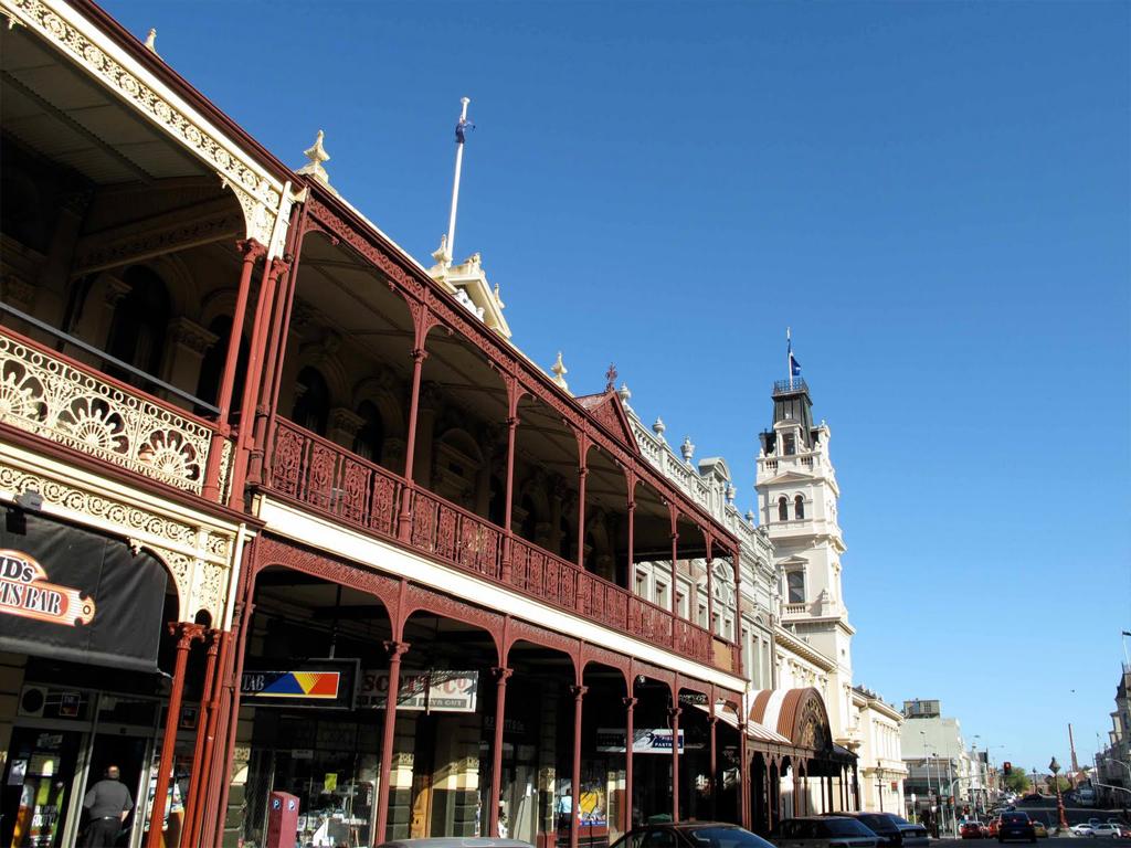 Thị trấn Ballarrat Úc