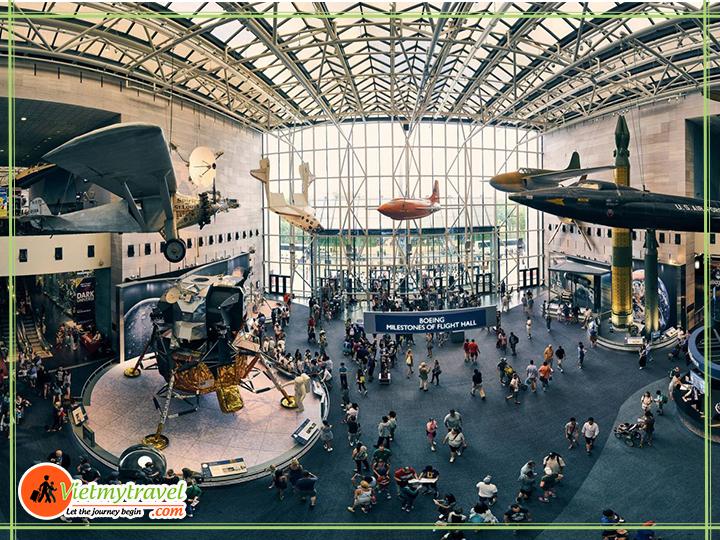 Bào tàng hàng không Hoa Kỳ - du lịch mỹ
