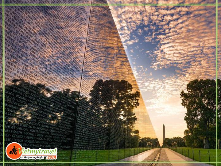 Bia tưởng niệm binh lính Mỹ hy sinh trong chiến tranh Mỹ - Việt.