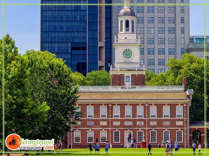 Dinh độc lập tại Philadelphia