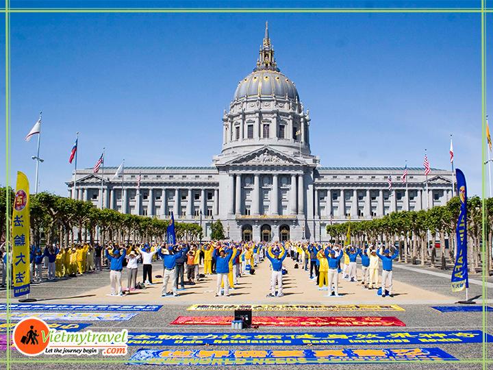 Tòa thị chính San Francisco.